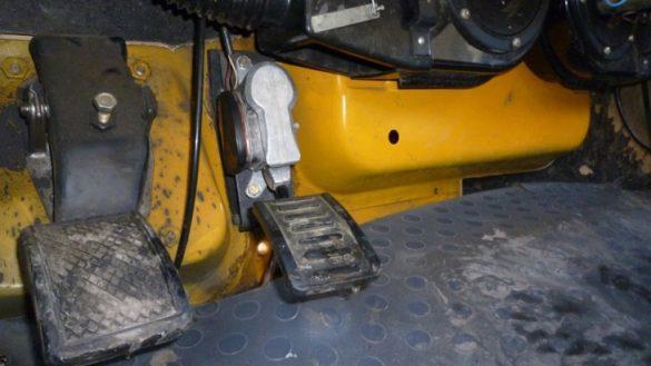 Не работает педаль газа на Камазе